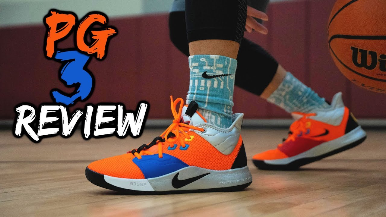 Nike PG 3 Performance Review! - YouTube
