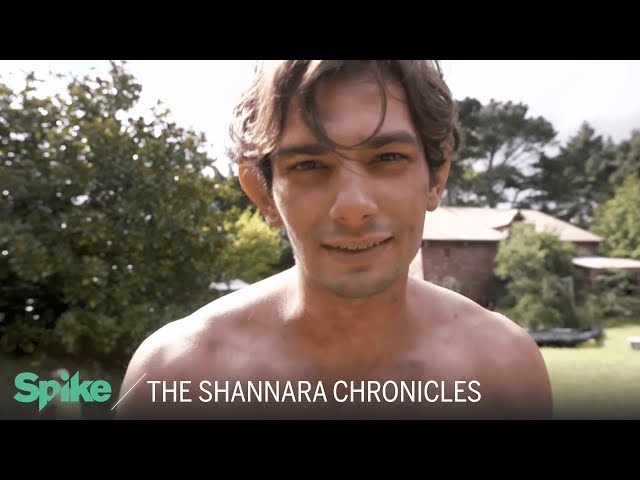 'Bandon's First Scene' Behind the Scenes | The Shannara Chronicles: Now on Spike TV