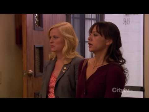 Parks and Recreation   Please tell me why Andy sings