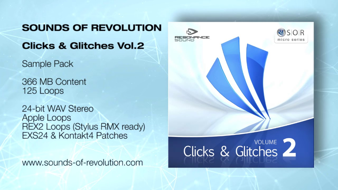 SOR Clicks & Glitches Vol.2 | Samples #1