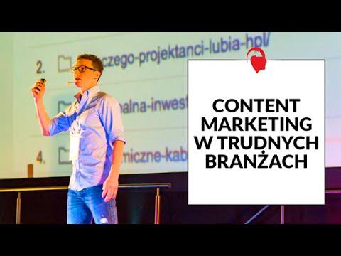 """Cezary Lech """"Content Marketing w Trudnej Branży"""""""