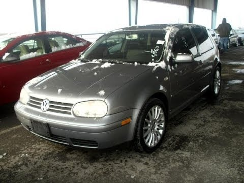2004 Volkswagen GTI VR6 Start Up and Quick Tour