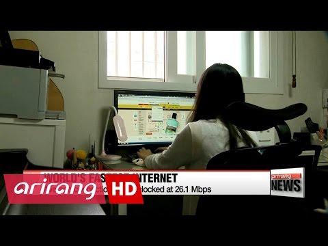 Korea maintains world's fastest Internet connection speeds