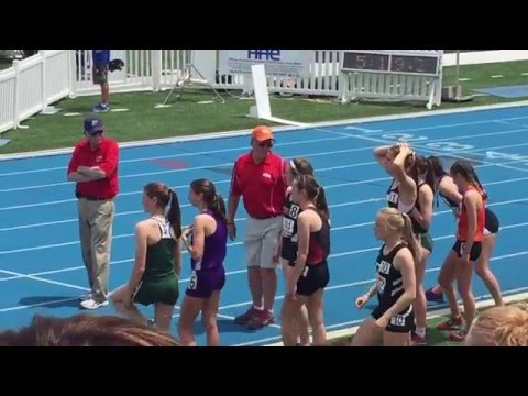 IHSA Girls State Finals 2015 Class 3A Grant Community High School 4 x 800 M School Record