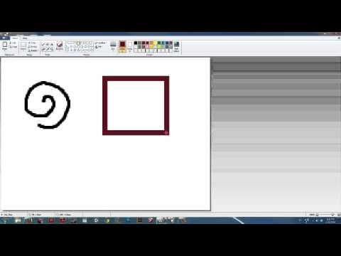 How to Grab & Move Stuff in Paint : Digital Art & MS Paint