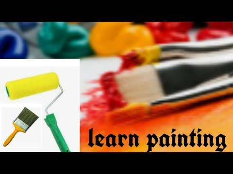 how to create wall painting/how to apply best paint /new tricks for wall paint