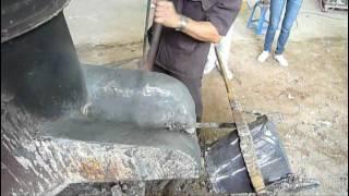 Cupola Furnace Workshop: เตรียมก่อนการเจาะ
