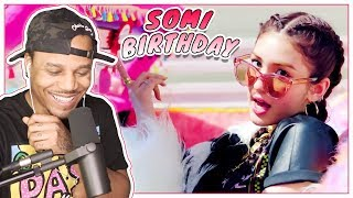 Oh She Does It All?! | Reacting To SOMI - 'BIRTHDAY' M/V
