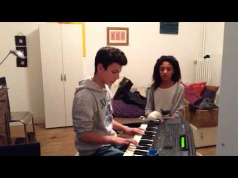 Duo someone like you~adele piano/chant