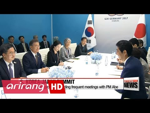 Moon discusses resolving North Korean nuclear issue and boosting economic cooperation