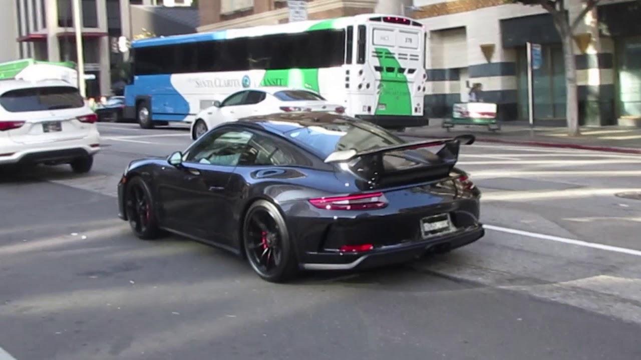 Porsche 991 2 Gt3 In Downtown La Youtube