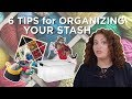 6 Tips for Organizing Your Yarn Stash