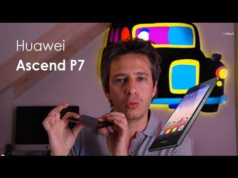 Huawei Ascend P7 la recensione di HDblog