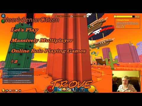 TROVE : Let's Play Massively Multiplayer Online Role Playing Games #2 Part A
