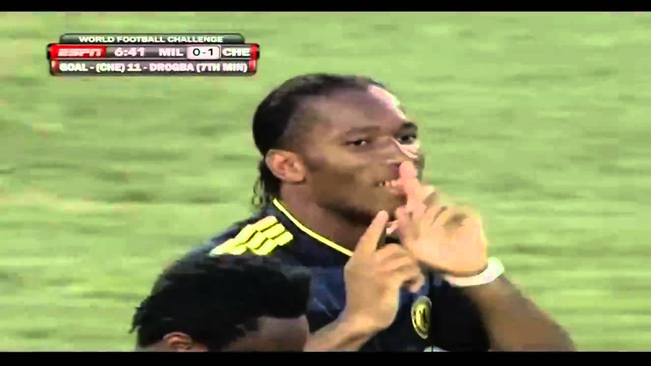 Drogba 30 M Goal Against Milan HD
