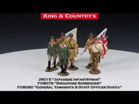 King & Country - The Tiger of Malaya (General Yamashita & Staff Officer Sugita)