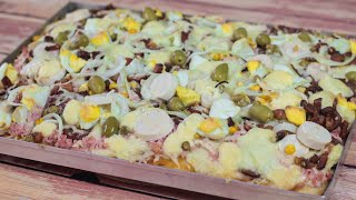 Pizza Portuguesa Super Crocante