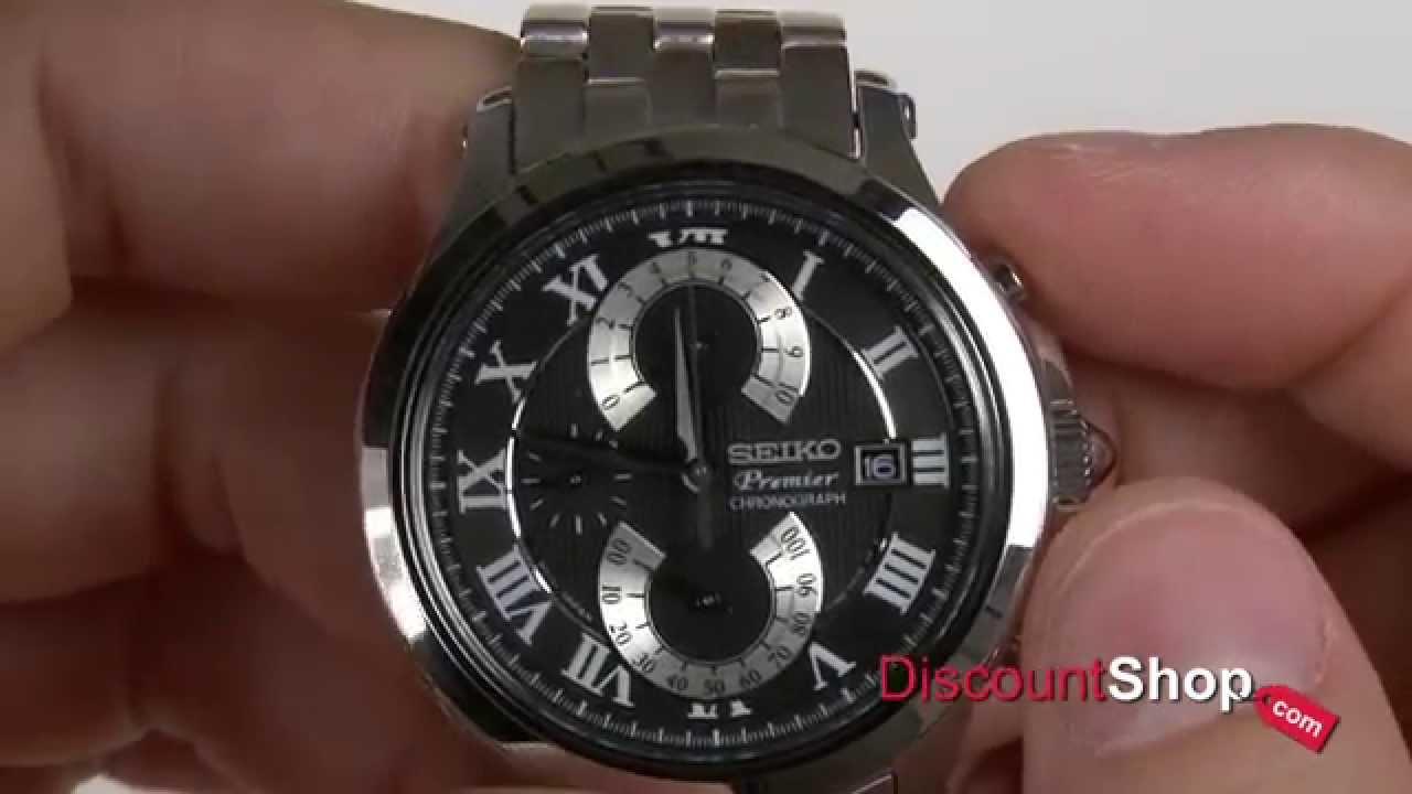 Chronograph Retrograde By Double Spc067p1 Premier Seiko Review H2DIWE9Y