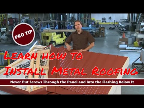Roofing Intelligence's Metal Roofing Video Highlights