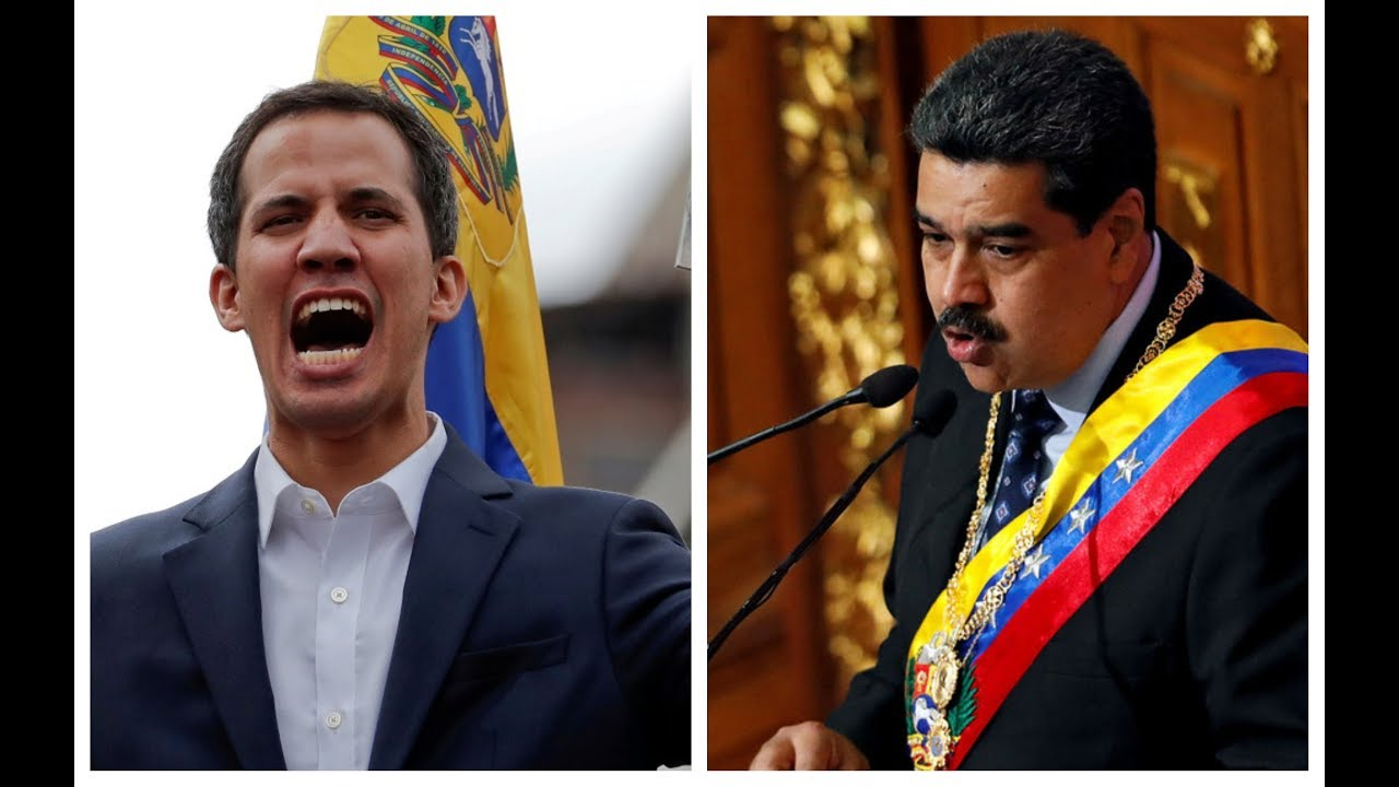 Washington recognizes Venezuela opposition leader as president, Maduro orders embassy closing in US