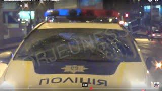 Полиция сбила человека на пешеходном переходе Харьков(Сегодня полиция снова отличилась.... только позавчера они снесли три перкрытия на проспекте Гагарина ......, 2016-03-22T22:48:41.000Z)