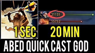 10K MMR Triggered !! ► Abed Meepo Blink Poof Meepo Combo Quick Cast Dota 2