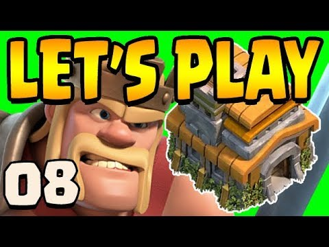 MAX KING + 50% WALLS DONE | TH7 Let's Play Ep8 | Clash Of Clans