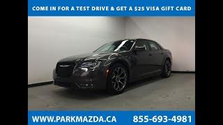 GRAY 2017 Chrysler 300  Review Sherwood Park Alberta - Park Mazda