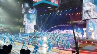 Репетиция Церемонии открытия Универсиады-2017 в Алматы
