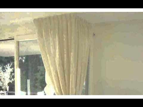 Moderne Vorhänge Wohnzimmerdesign