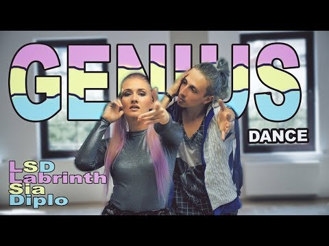 LSD - Genius ft Sia Diplo Labrinth - dance  Patman Crew choreography