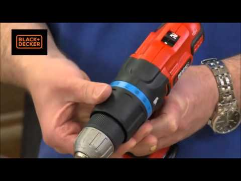 Black and Decker Combi Drill 18 Volt Lithium ion B/DEGBL188KB
