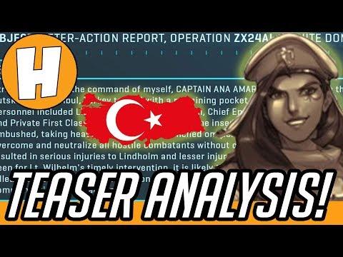 Overwatch - HERO 27 Teaser Full Analysis (Emre Sarioglu + White Dome!) | Hammeh