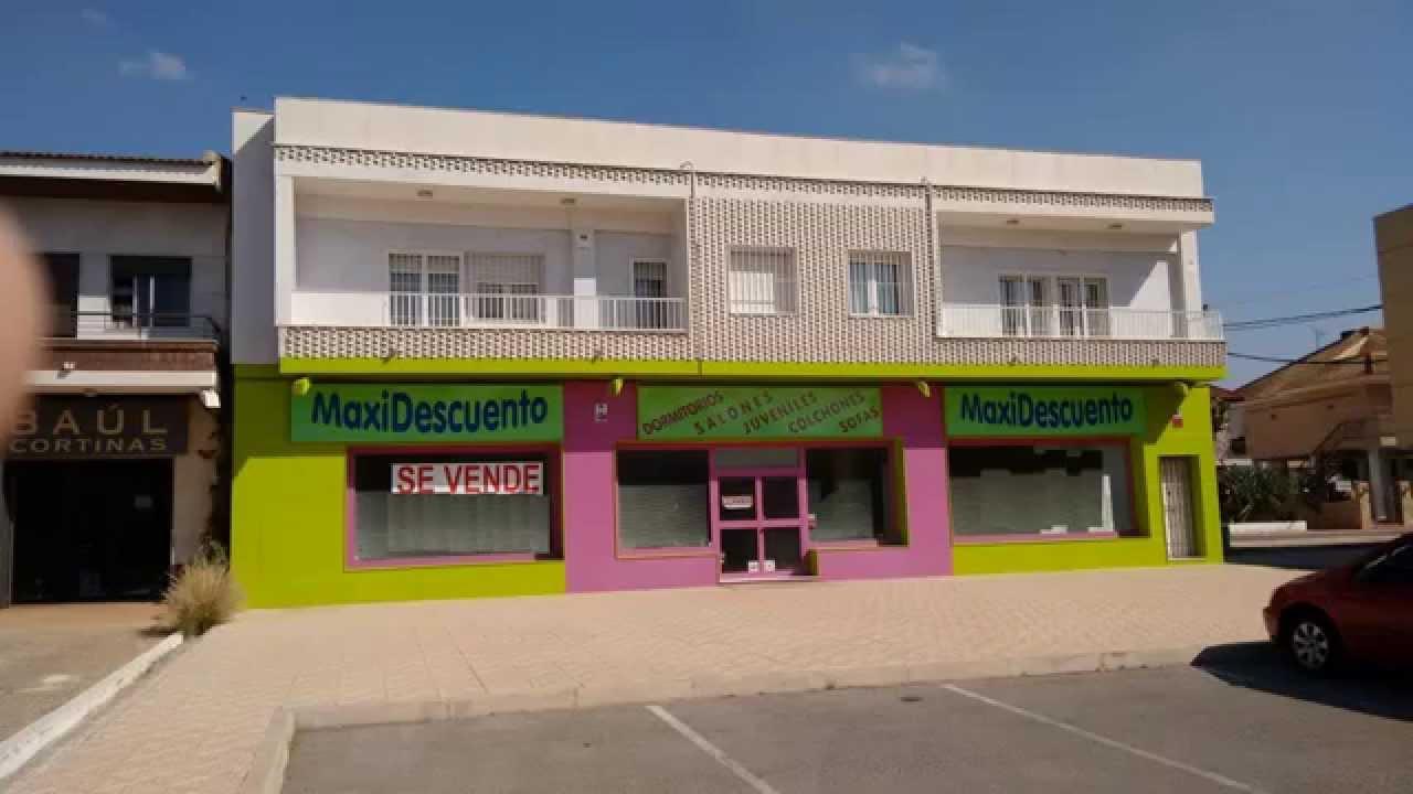 Compra local comercial y vivienda lujo en venta en murcia Modelo de casa con local comercial
