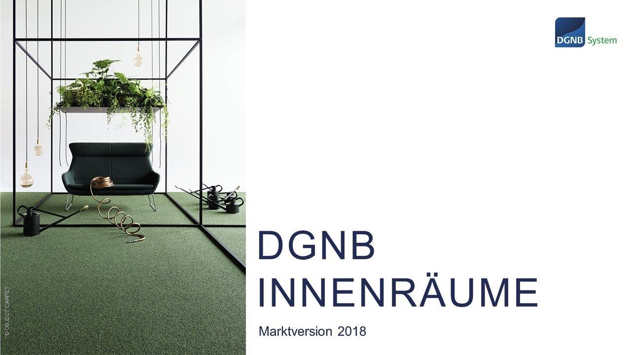 DGNB Webinar zur Zertifizierung nachhaltiger Innenräume - YouTube