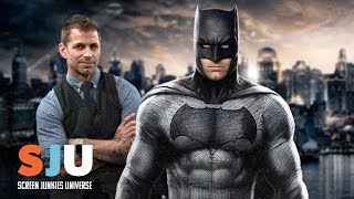 Zack Snyder Defends Batman Killing People - SJU