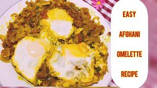 Shakshuka RecipeEasy Breakfast RecipeEgg poached in spicy Tomato SauceEasy Afghani OmelleteRecipe
