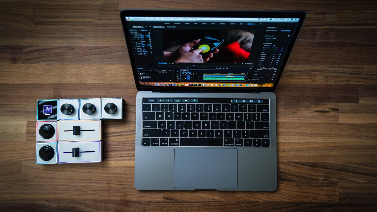 Palette Control Surface for Film Editing and Color Grading | 4K Shooters