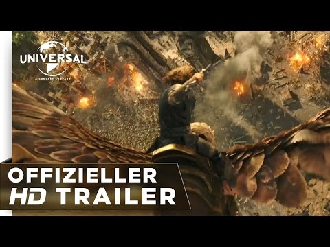 Warcraft: The Beginning - Trailer #2 deutsch / german HD