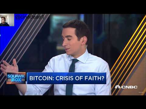 When Will Cryptocurrency / Bitcoin Prices Will Stabilize | CNBC Fast Money