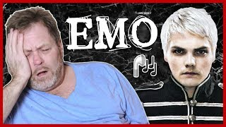 DAD REACTS TO EMO MUSIC (BRAND NEW, MCR, & MORE)