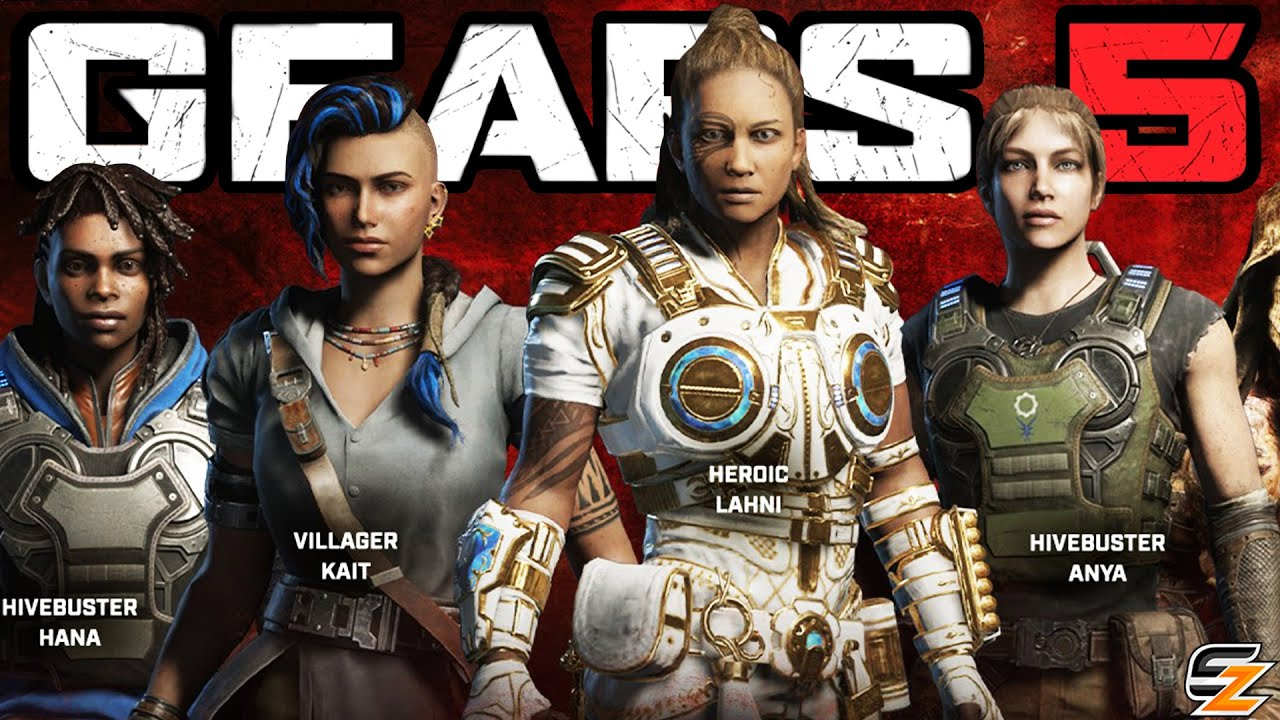 Download GEARS 5 News - New Operation 8 Characters Skins Teased! Villager Kait, Heroic Lahni & More!