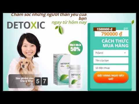 Phần bổ sung Detoxic ký sinh trùng. đánh giá, mua nó?