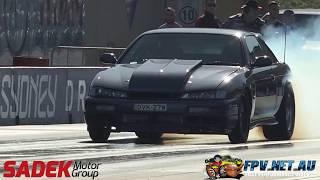 JAMMAS AUTO SPORTS LS3 TURBO 200SX 9.17 @ 145 MPH