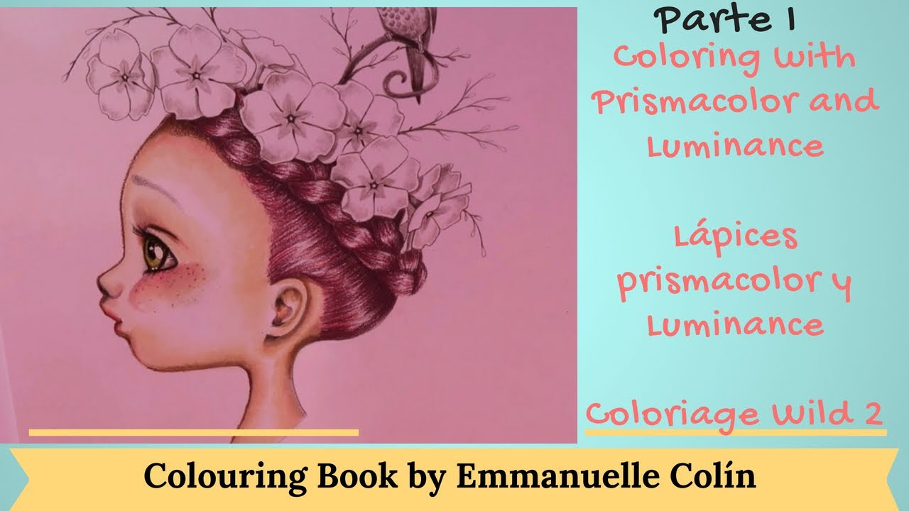 Tutorial Libro De Colorear Coloring Book By Emmanuelle