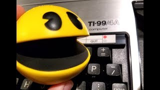 Classic Game Room - PAC-MAN review for TI-99
