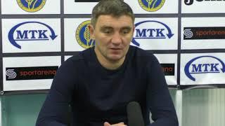 Післяматчева прес-конференція головного тренера ковалівців Руслана Костишина