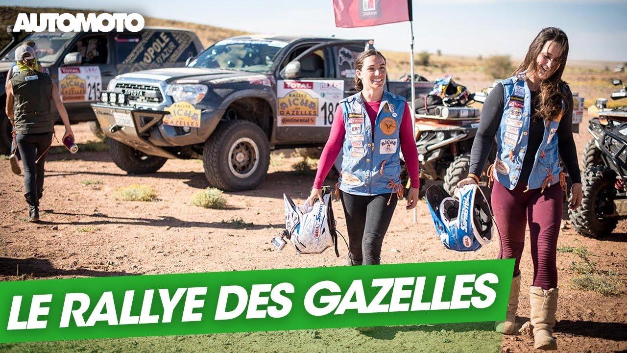 Rallye des gazelles, 100% féminin !