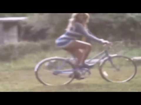 Beyonce bicycle ride through