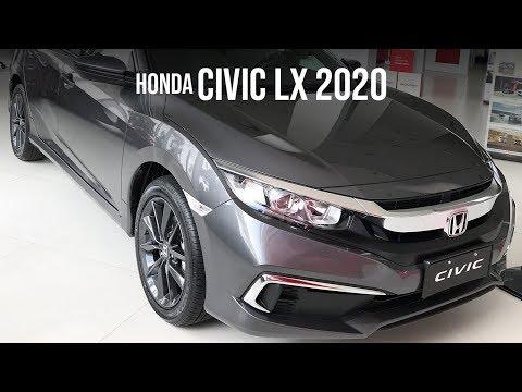 HONDA CIVIC 2020! Confira o nosso primeiro contato com a versão LX (de entrada)